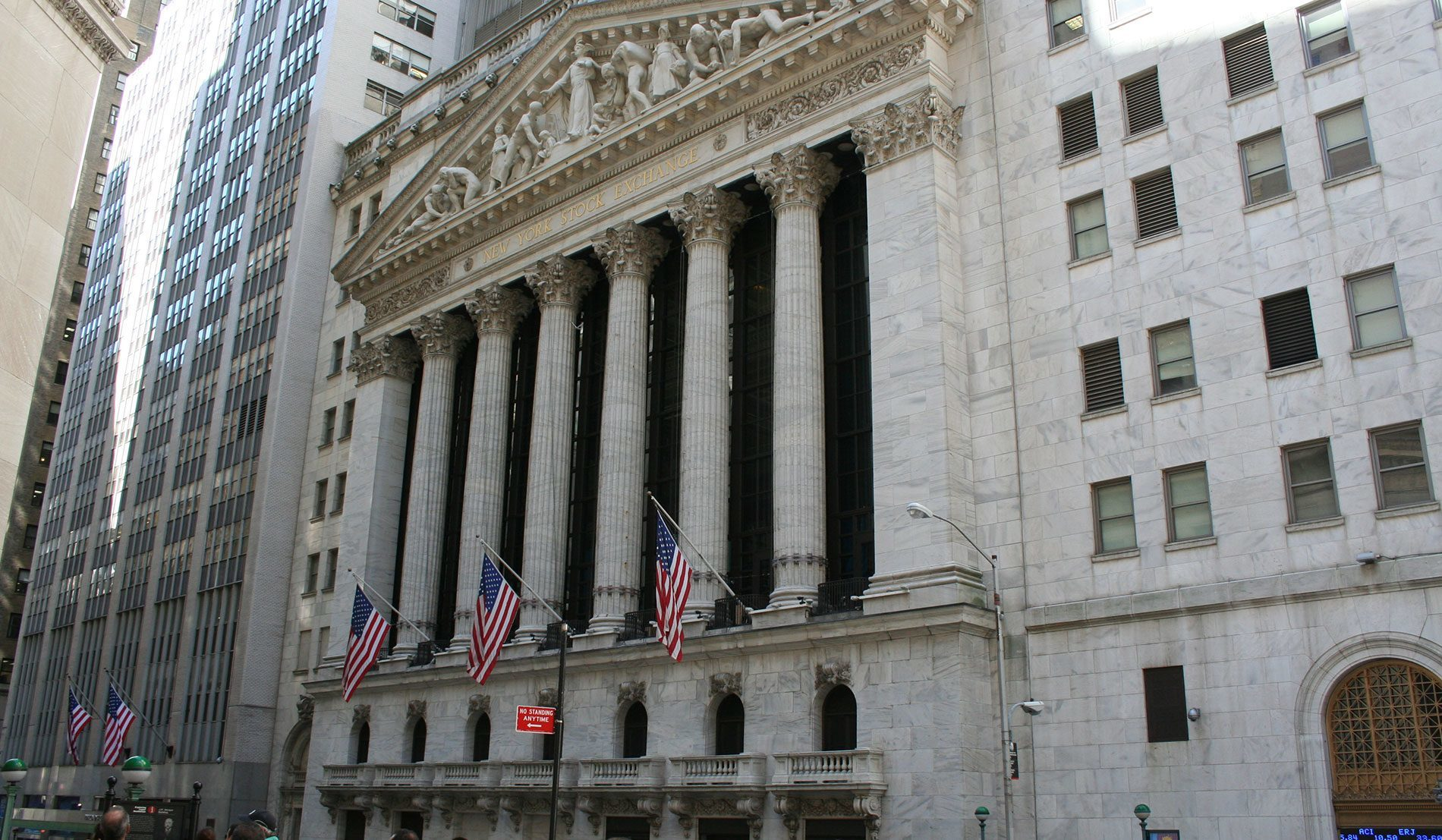 Visiter Wall Street la bourse de New York