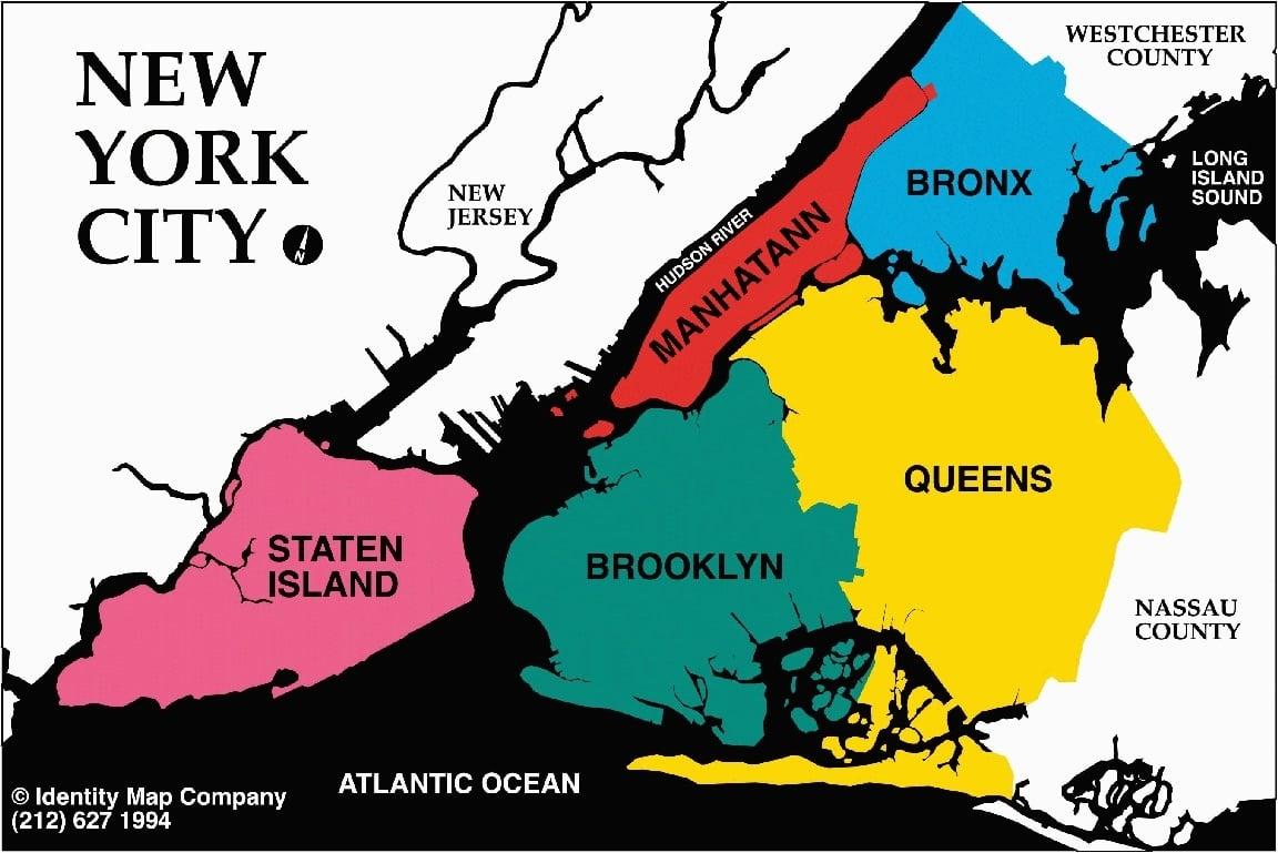 les cinq arrondissements de new york new york city. Black Bedroom Furniture Sets. Home Design Ideas