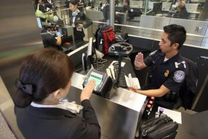 Contrôle douane New York