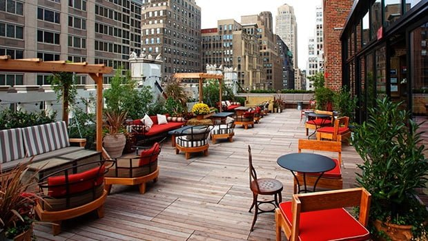 refinery new york rooftop bar