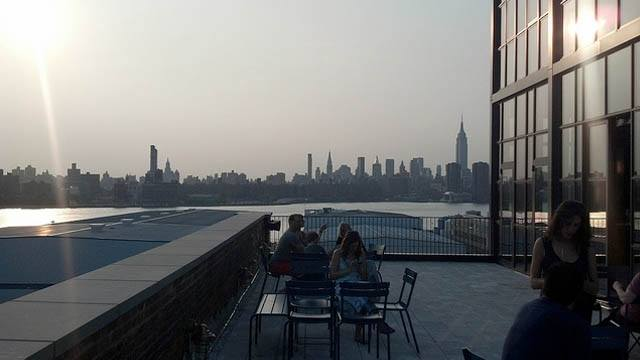 The Ides rooftop Bar