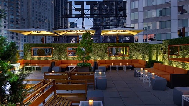 Empire Hotel Rooftop bar New York