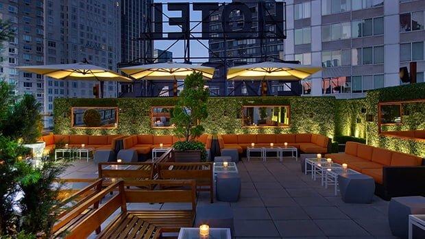 Empire Hotel Rooftop bar New York